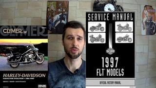 Основные источники  тех.информации при ремонте и обслуживании мотоциклов Harley-Davidson
