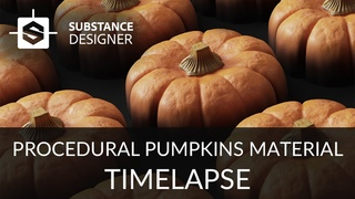 Substance Designer - Pumpkin Material