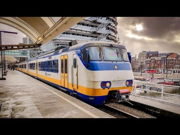 4K Cab Ride NL Hoorn - Alkmaar - Haarlem - Amsterdam SPR 4844 05-05-2019