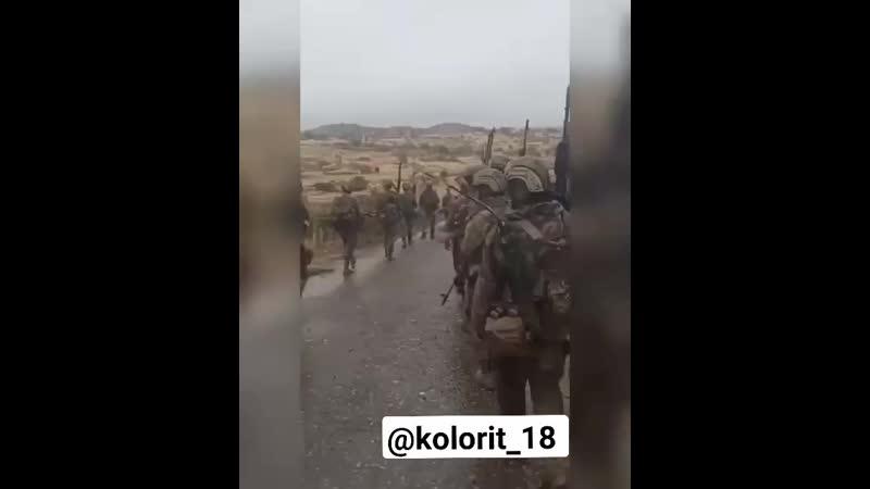 Наступление спецназа ВС Азербайджана