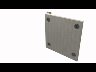 Система крепления стеновых панелей Quick-Fit