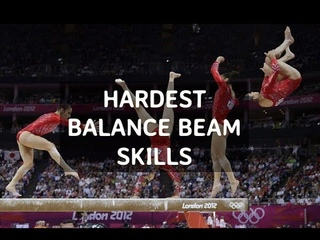 THE Hardest Skills    Balance Beam
