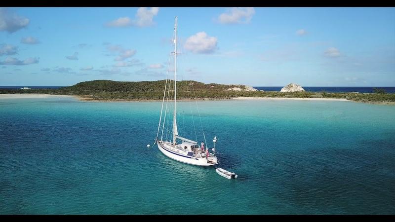 Sailing Bahamas Sailing Exuma O'Brien's Cay Cambridge Cay HR54 Cloudy Bay Jan'20 S20 Ep4