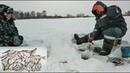 Зимняя рыбалка на Волге в Хмелёвке . Сорожка , подлещик , краснопёрка , окунь атакуют !