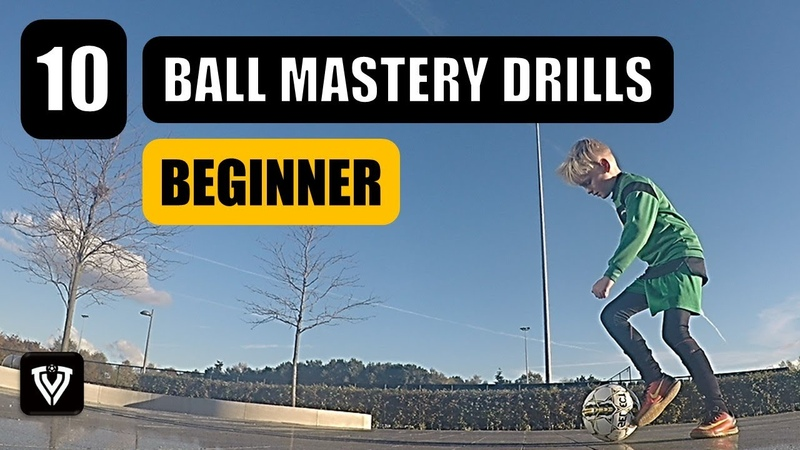 10 BEGINNER BALL MASTERY EXERCISES | U6 - U7 - U8 - U9 - U10 - U11 - U12 | FOOTBALL - SOCCER