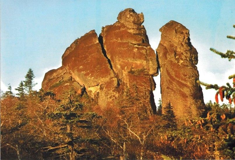 Интересные места нашей планеты Амурские столбы (Россия), изображение №7