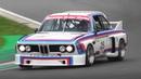 BMW 3 0 CSL Batmobile Racing at Imola Circuit OnBoard Footage