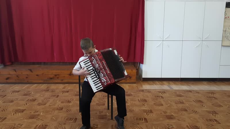 Федоров Владислав аккордеон Младшая группа Б