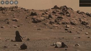 Mars Аmazing stones rover Perseverance