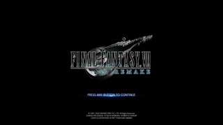 Final fantasy VII (PS4 remake)