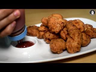 Crispy and Juicy Chicken Hot Shots Recipe - KFC Style Fried Chicken - Kitchen With Amna ( 720 X 1280 ).mp4