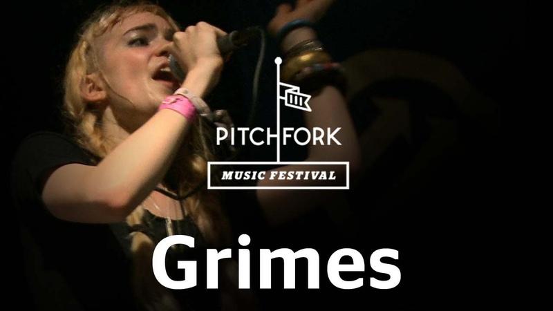 Grimes performs Genesis at Pitchfork Music Festival 2012