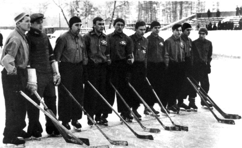 """ХК """"Спартак"""" Москва 1946 год"""