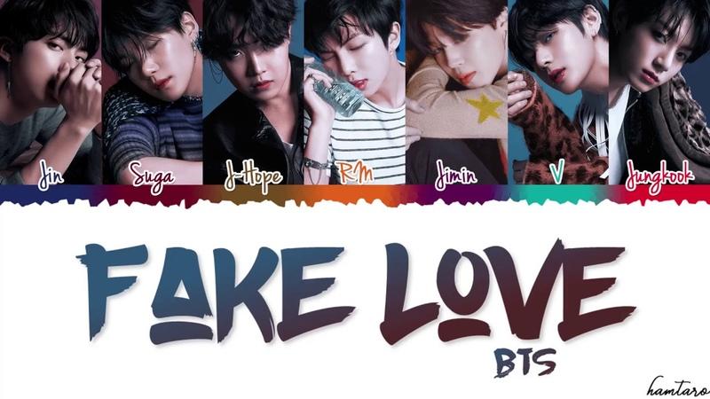 BTS (방탄소년단) - FAKE LOVE Lyrics [Color Coded_Han_Rom_Eng]