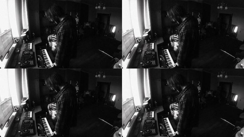 Daily Bullshit 02 Ritchie Ray Guitar and Drum Improvisation