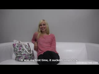Veronika AKA Debora Skye - CzechCasting CzechAV 5285 ## POV casting blonde czech teen tattooed auditions masturbation toys dildo
