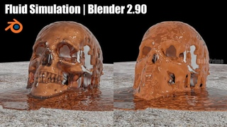 How to do Fluid Simulation in Blender    Beginners Blender tutorial
