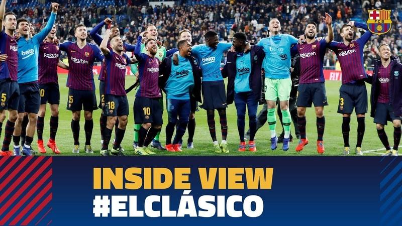 REAL MADRID 0-1 BARÇA | Inside ElClasico | La Liga