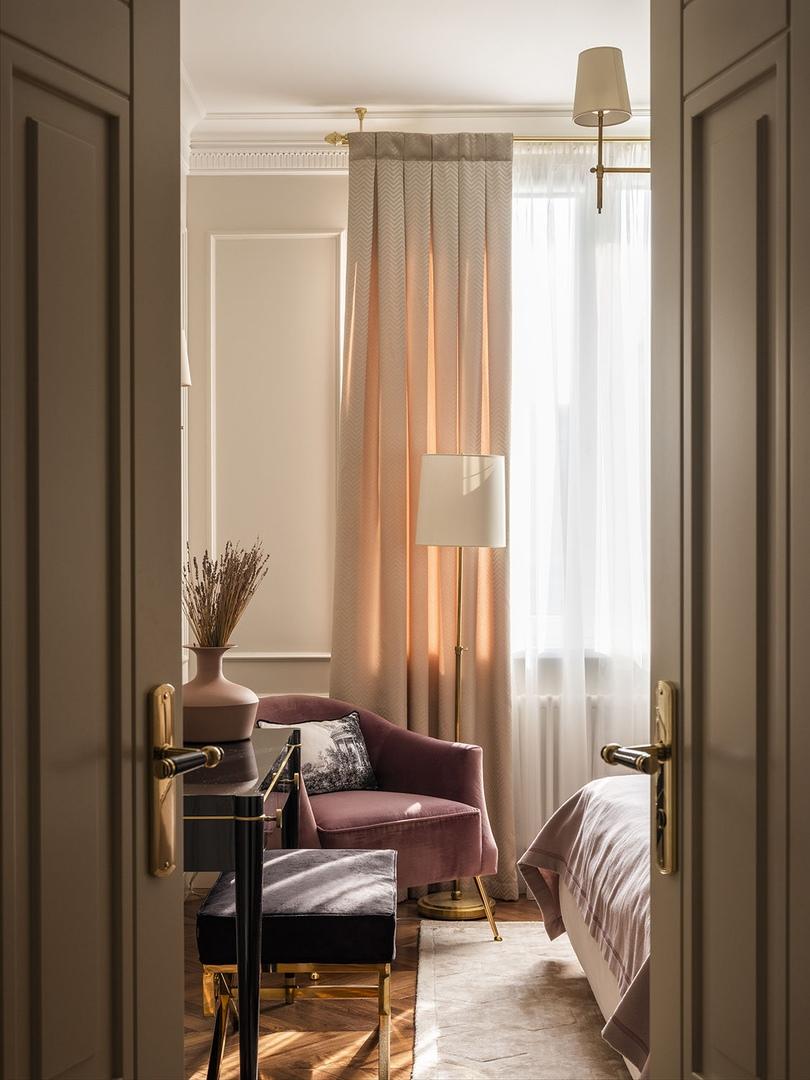 Московская квартира 130 м² для изящного сибаритства от Ольги Кондратовой, Марины Федосеевой и Натальи Кузьминой    01