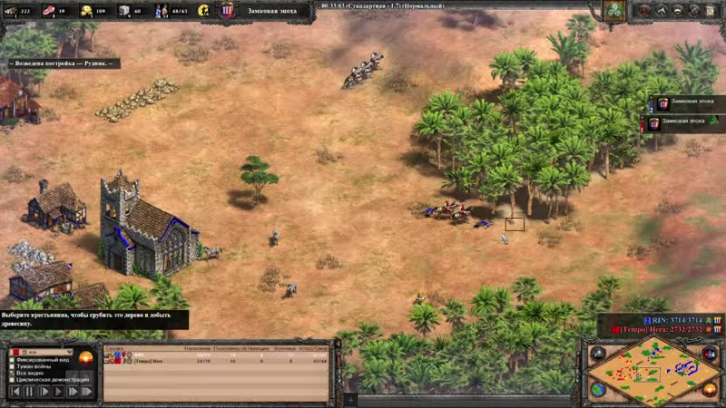 Wanderbraun Age of Empires Потеря базы не конец Жесть а не катка Hoang vs Hera Age of Empires 2
