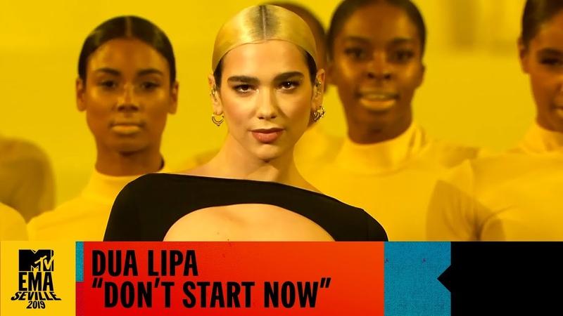 Dua Lipa Don't Start Now Live MTV EMA 2019