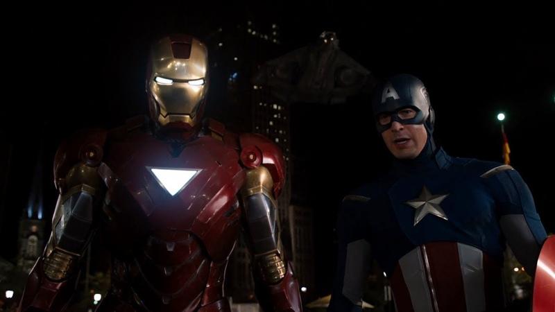 Твой ход северный олень Железный Человек и Капитан Америка против Локи