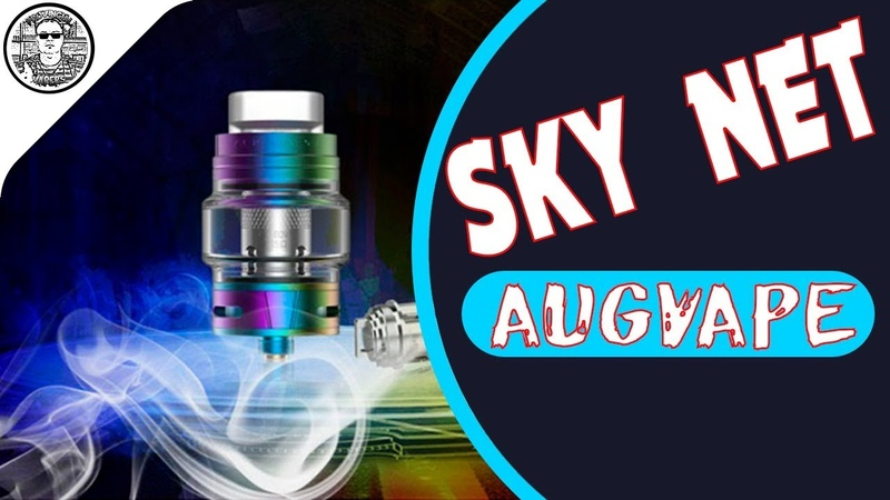 Sky Net Sub ohm Tank by AugvapeProvincial Vapers