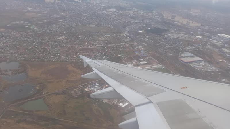 Ural Airlines Airbus A320 VQ BDM Жуковский Архангельск взлёт 21 октября 2020