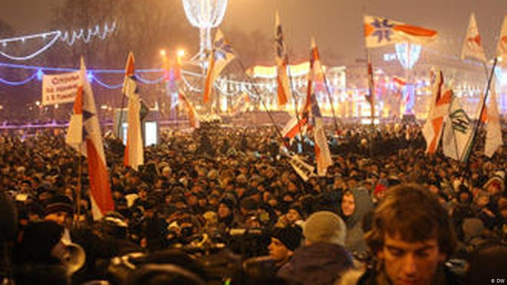 Акция протеста в Минске 2010