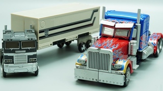 TRANSFORMERS STOP MOTION - Optimus Prime Sleep Mode vs MPM04, Bumblebee Real battle at Home!