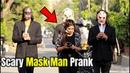 Scary Mask Men Following People with Candles Prank Pranks in Pakistan LahoriFied