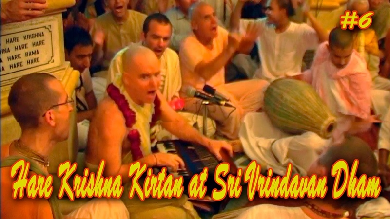 Aindra Dasa Hare Krishna Kirtan at Sri Vrindavan Dham Part 6