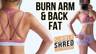 Burn Arms & Back Fat Workout 💪 Sexy Arms in 10 Mins | Upper Body