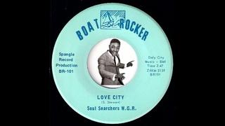 Soul Searchers . - Love City (Sly Stone Cover) [Boat Rocker] 1970 Kids Psychedelic Soul Funk 45