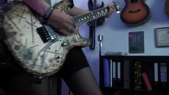 Rammstein - Ich tu dir weh Live Guitar Cover · coub, коуб
