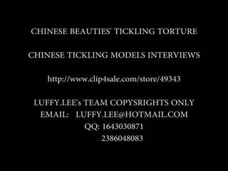 Asian girl tickle