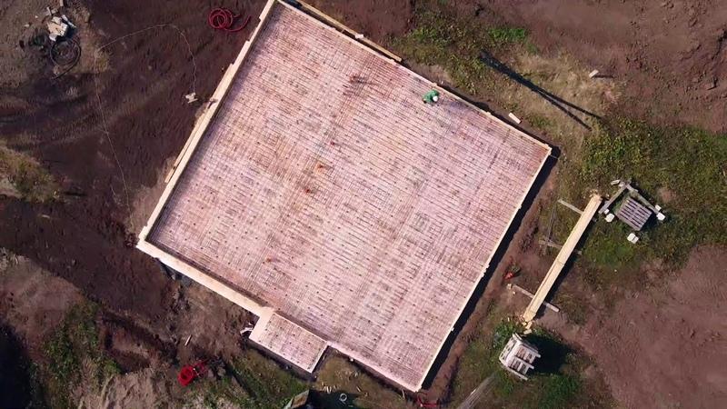 Заливка плиты фундамента Заливайте плиту ТАК и ваш дом постоит более 100 лет Ждем ваши вопросы 👇