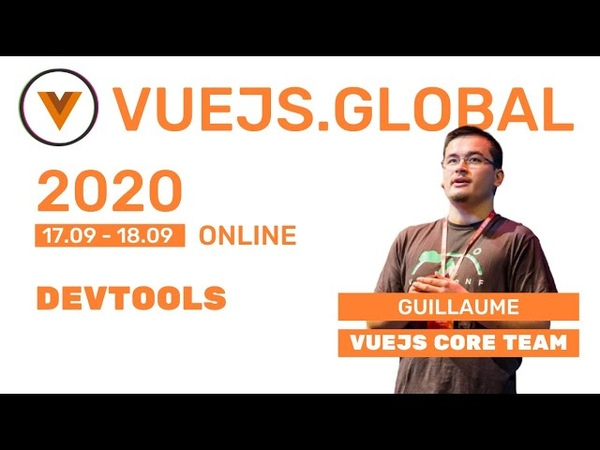 Guillaume Chau - Maintaining OSS like vue-cli, vue-devtools, vue-apollo and more! at Vuejs Global