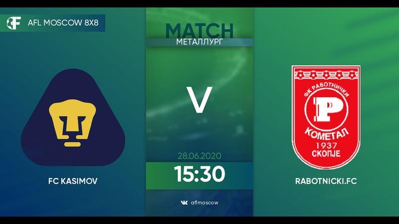 AFL20 Russia Professional League Day 3 FC Kasimov Rabotnichki FC