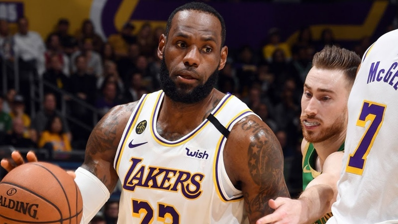 Los Angeles Lakers vs Boston Celtics Full Game Highlights | February 23, 2019-20 NBA Season