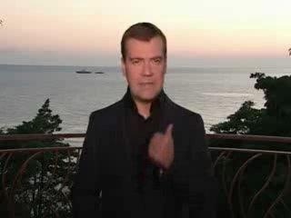 Рыночные Отношения и Чёрная Экономика - я хочу чтобы мусора со,,,. (Д Медведев исполняет)