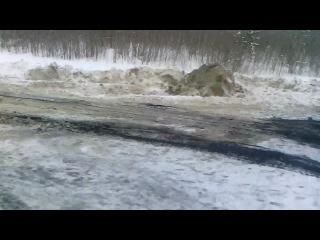 Трасса Мегион Нижневартовск Авария спустя 3 часа Пиздец товарищи