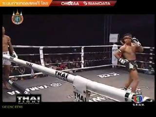 Buakaw por pramuk vs  toure abdoul [thai fight extreme 2012]