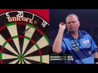 Michael van Gerwen vs Raymond van Barneveld (PDC European Championship 2014 / Semi Final)