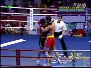 Китайского мастера кунг-фу убили на ринге.