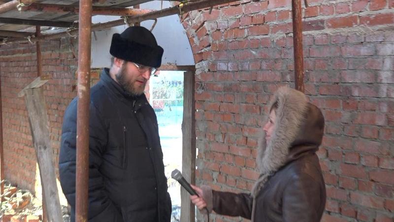 Архангельский храм Михайлов строительство воскресной школы и Митрофаньевского предела