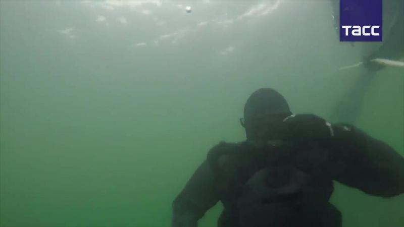 Морской спецназ Балтфлота применил спецоружие