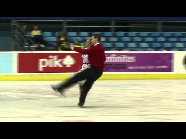 C. GLASTRIS N. LETTNER (GRE) - ISU JGP Croatia Cup 2012 Junior Ice Dance Short Dance