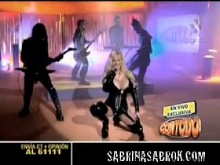 Sabrina Sabrok, sexy punk singer, biggest breast, bondage, fetish