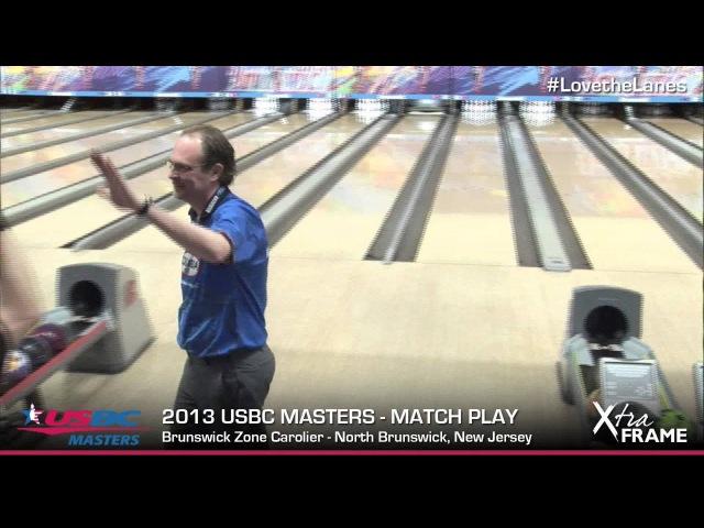 2013 USBC Masters - Mika Koivuniemi converts the 7-10 split